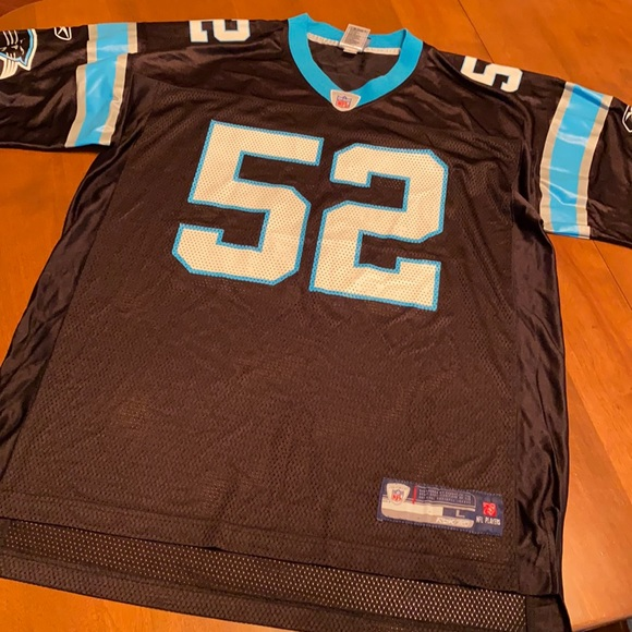 NFL Reebok Jon Beason Panthers jersey size Large